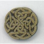 Circular Celtic Knotwork Brooch